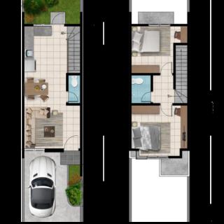 Rumah Murah Terbaru 2 Lantai Surabaya