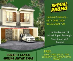 Dijual Rumah di Surabaya Rungkut Siap Huni